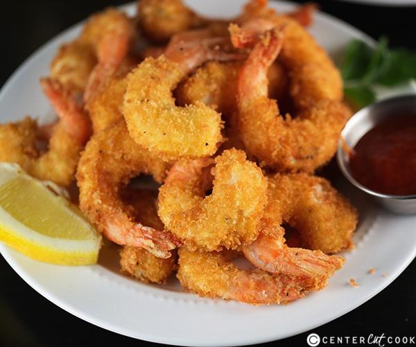 ESB beer-battered shrimp